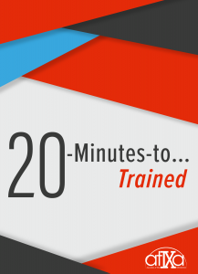 20 Minutes to Trained